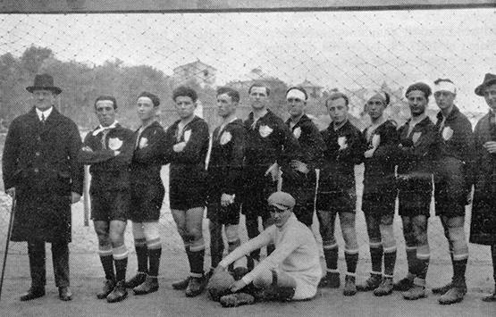 1922-23 Storia Virtus Entella Chiavari