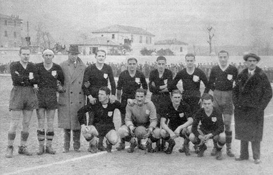 1933-34 Storia Virtus Entella Chiavari