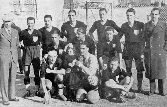 1934-35 Storia Virtus Entella Chiavari