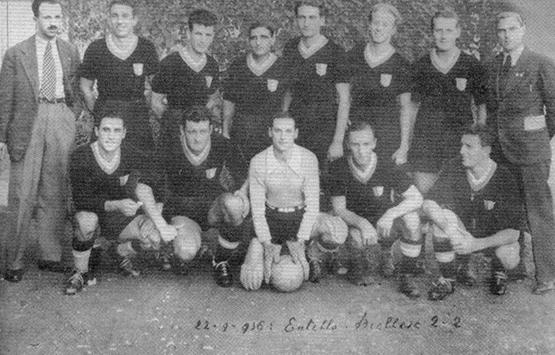 1936-37 Storia Virtus Entella Chiavari