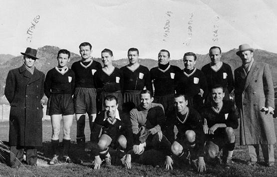 1942-43 Storia Virtus Entella Chiavari
