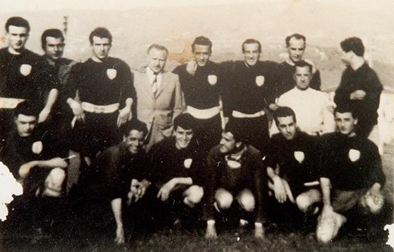 1952-53 Storia Virtus Entella Chiavari