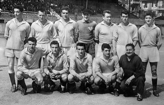 1955-56 Storia Virtus Entella Chiavari