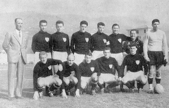 1956-57 Storia Virtus Entella Chiavari