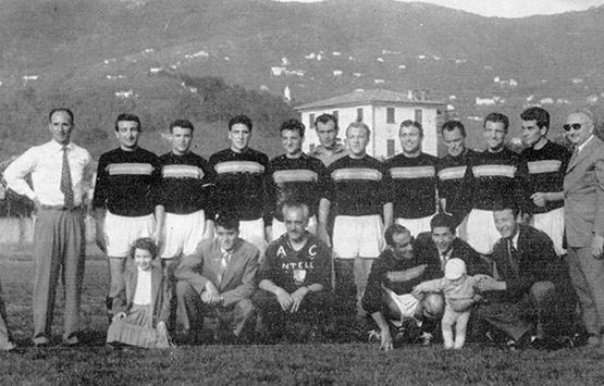 1957-58 Storia Virtus Entella Chiavari