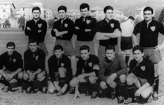 1962-63 Storia Virtus Entella Chiavari