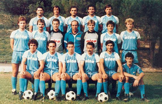 1985-86 Storia Virtus Entella Chiavari