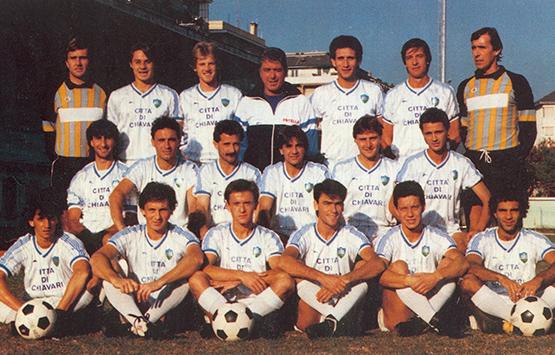 1986-87 Storia Virtus Entella Chiavari