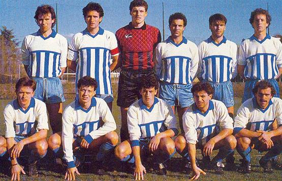 1987-88 Storia Virtus Entella Chiavari
