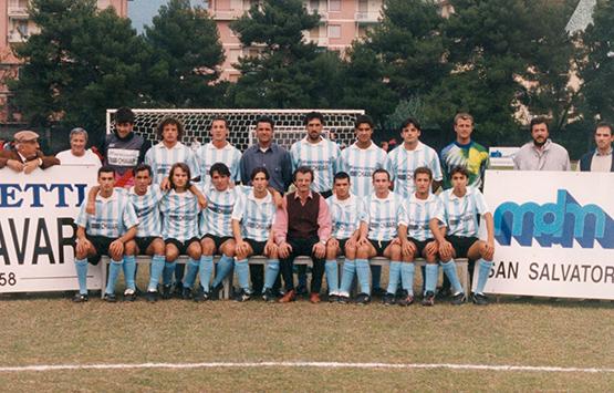 1994-95 Storia Virtus Entella Chiavari