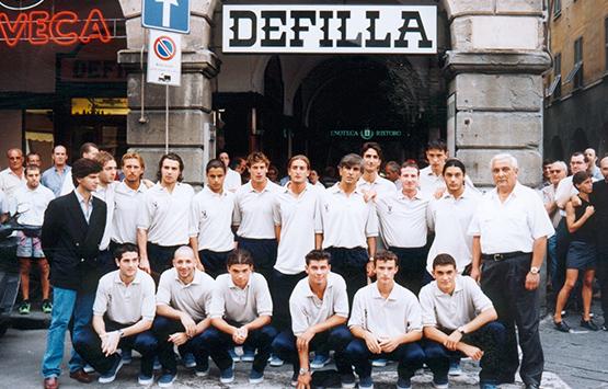 1999-00 Storia Virtus Entella Chiavari