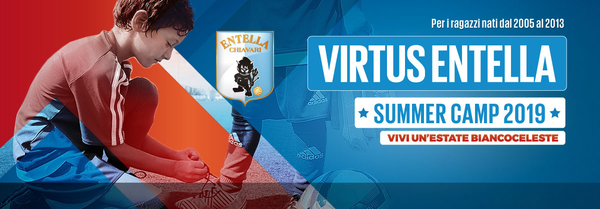 Summer Camp Colmata a mare - Virtus Entella Chiavari