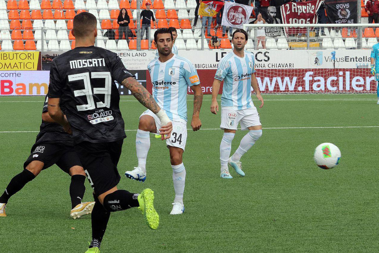 Serie B, Virtus Entella-Trapani 19/10/2019